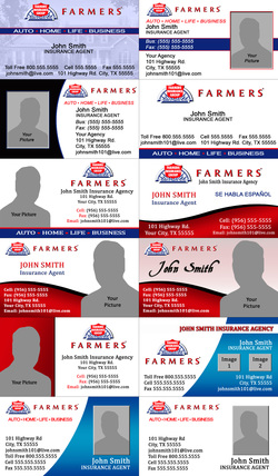 Farmers insurance agents j ocon print shop for Insurance for home under construction